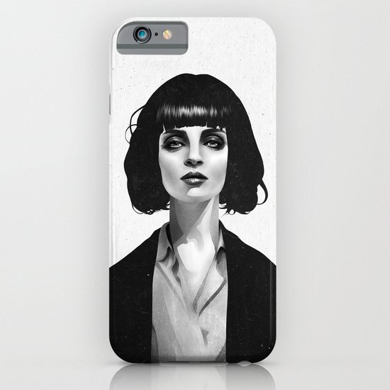 Mrs Mia Wallace iPhone & iPod Case
