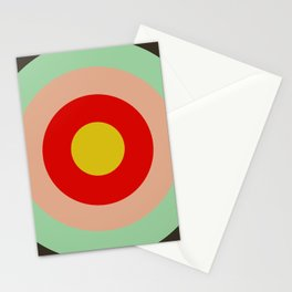 Molokai - Classic Colorful Abstract Minimal Retro 70s Style Graphic Design Stationery Cards