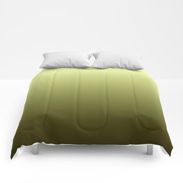 Yellow Olive Green Backgrund Comforters