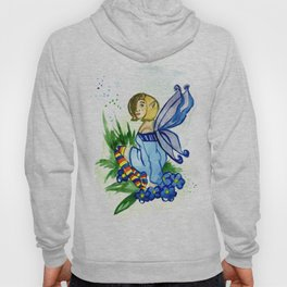 Forget Me Not Fairy Hoody
