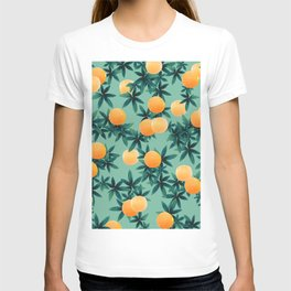 Orange Twist Vibes #1 #tropical #fruit #decor #art #society6 T-shirt
