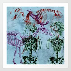 Our Young Bones Art Print