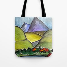 Forest Print. Tote Bag