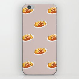 What I miss the most: Food Pattern iPhone Skin
