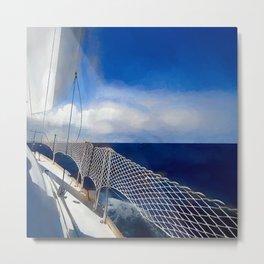 I am sailing Metal Print