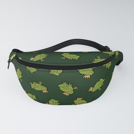 Frog Prince Pattern Fanny Pack