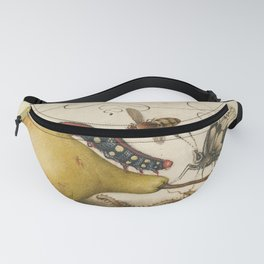 Pear Butterfly Caterpillar Fanny Pack