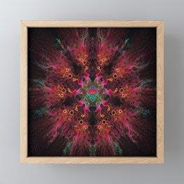 Fire Dance Framed Mini Art Print