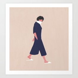 Walk on By Art Print