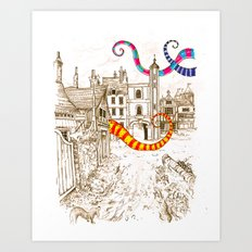 The Plague Art Print