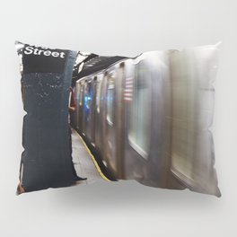 Wallstreet Subway Pillow Sham