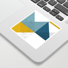 Modern Geometric 19 Sticker