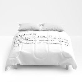Endure Comforters