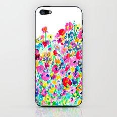 Flower Fields Pink iPhone & iPod Skin