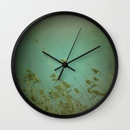 When the wind blows Wall Clock