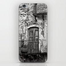 SICILIAN MEDIEVAL FACADE iPhone & iPod Skin