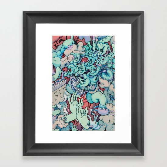 Manic Episode Framed Art Print