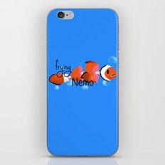 frying nemo iPhone & iPod Skin
