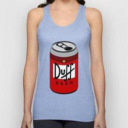 Duff Beer Can Unisex Tank Top