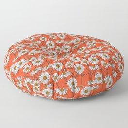 Freya's sacred flower Floor Pillow