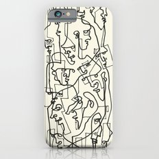 Curves And Lines iPhone 6 Slim Case