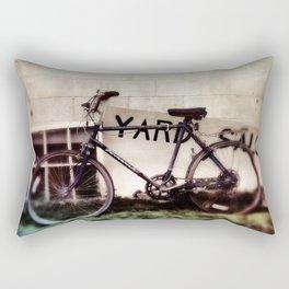 Yard Sale Bike Rectangular Pillow