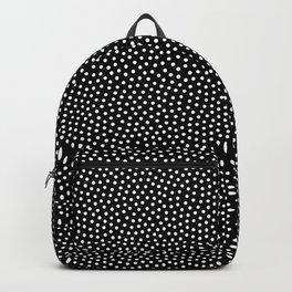 Little Dots Black Backpack
