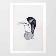 Apache Godfather Art Print