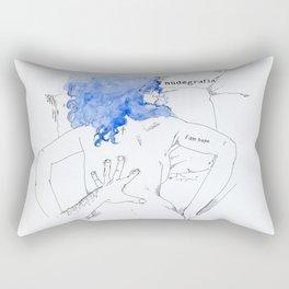 NUDEGRAFIA - 17  I am hope Rectangular Pillow