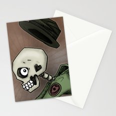 Angel of Death Skeleton by RonkyTonk Stationery Cards