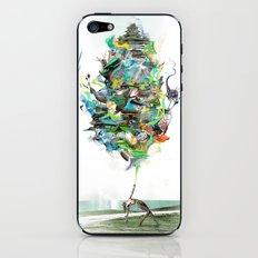 Aqualegia iPhone & iPod Skin