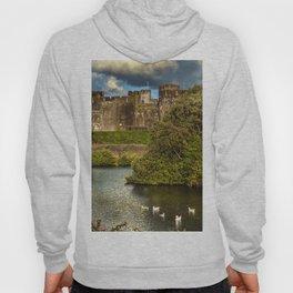 Caerphilly Castle Western Towers Hoody