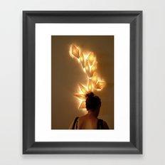 Hair ornament Framed Art Print
