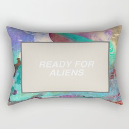 Ready For More Aliens Rectangular Pillow
