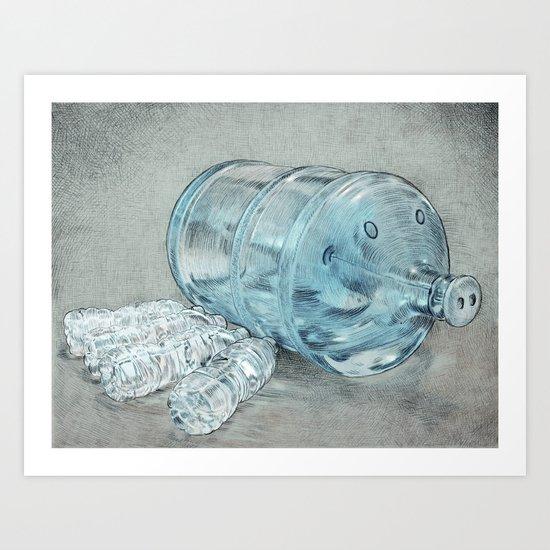 Water Hog Art Print