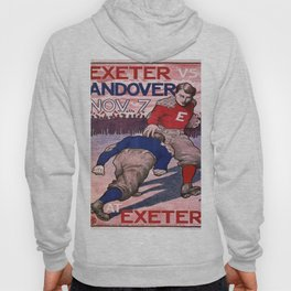 Vintage poster - Exeter vs. Andover College Football Hoody