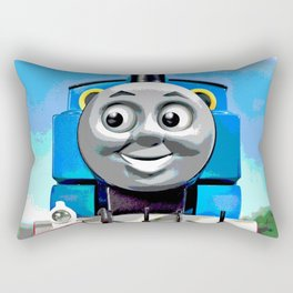 Thomas Has A Smile Rectangular Pillow