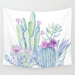 Mixed Cacti White #society6 #buyart Wall Tapestry