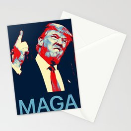 Yeah MAGA Stationery Cards