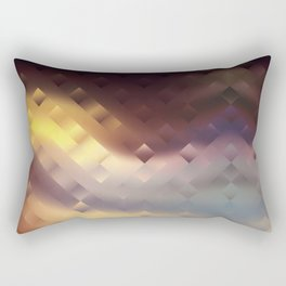 In anticipation of the sunset Rectangular Pillow