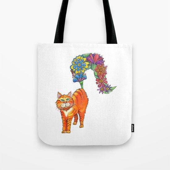 Classy Cat Chloe Tote Bag
