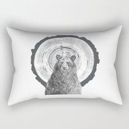 Ring Bearer -Black Rectangular Pillow