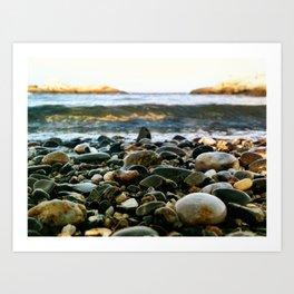 Rocky Coast of Maine  Art Print