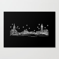 Venezia (Venice), Italy City Skyline Canvas Print