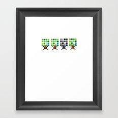 Think It! Like It? Framed Art Print
