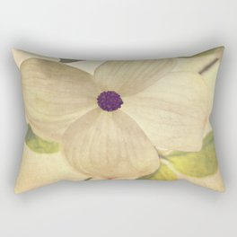 dogwood closeup Rectangular Pillow