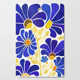 The Happiest Flowers Cutting Board