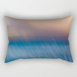 Sunset after the rain Rectangular Pillow