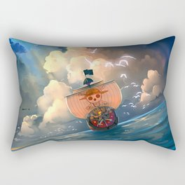 Ship of Pirates v2 Rectangular Pillow