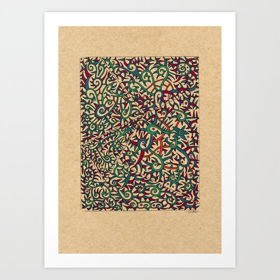 - legend - Art Print